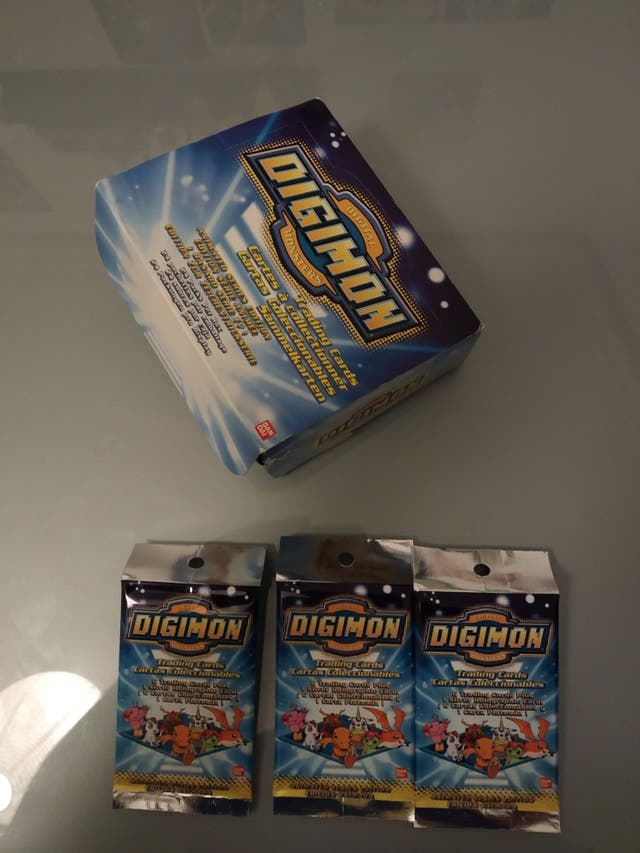 Sobres De Cartas Digimon Sellados 1999 BANDAI