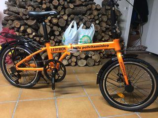Bicicleta plegable promocional