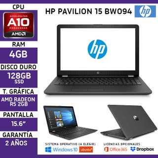 Portátil Gaming Hp Pavilon 15BW AMD A10 4GB 128GB