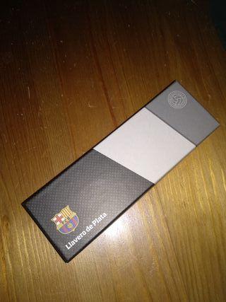 Llavero FCB, Barça, Plata de Ley