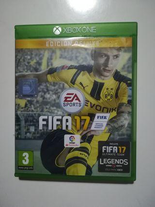 Xbox one fifa 17 de luxe