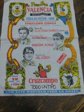 Cartel de toros 1994