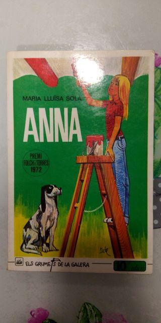 """LIBRO DE LECTURA """"ANNA"""""""