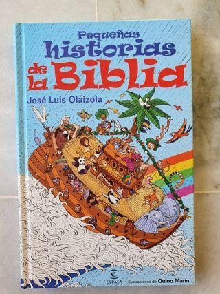 """Libro """"Pequeñas historias de la biblia"""""""