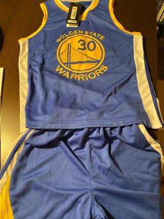 Equipamiento baloncesto niños