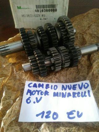 cambio de velocidades Minarelli