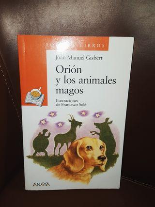 Libro Infantil ORIÓN Y LOS ANIMALES MAGOS