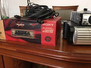 Radio cassett Sony con cargador de 10 cd