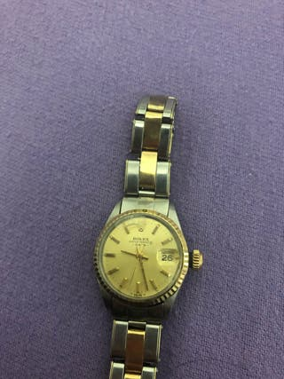 Rolex oyster Datejust mujer