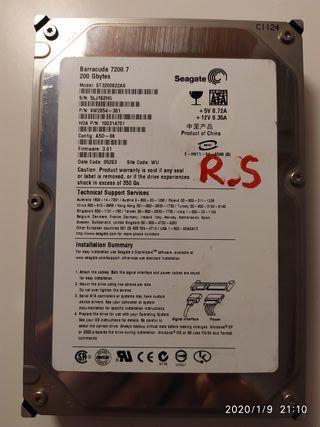 Disco duro 200 GB SATA 3'5