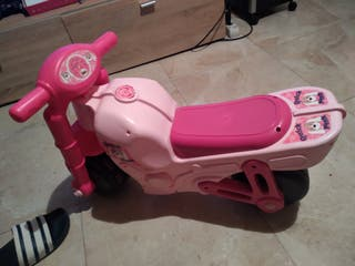 moto niña