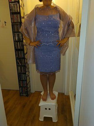 conjunto falda y camiseta para boda o fiesta t 42