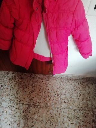 chaquetón rosa