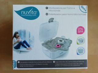 Nuvita 1085 Esterilizador Biberon Microondas