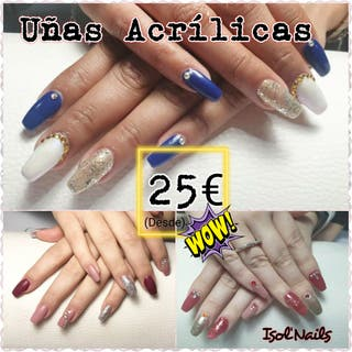 SUPER PROMO acrilicas 25€ Isol nails