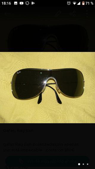 gafas Ray Ban polarizadas originales