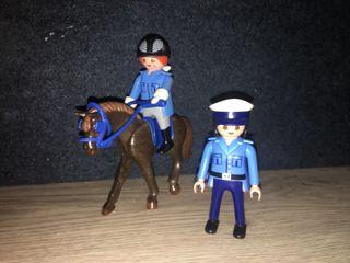 POLICÍA JINETE + POLICÍA