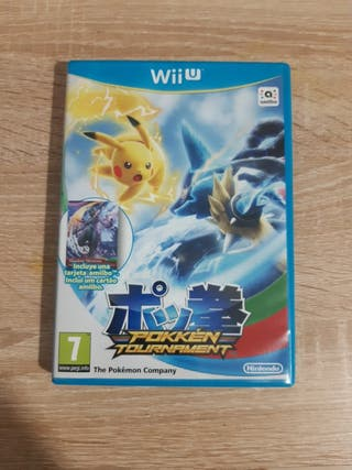 Pokken Tournament WiiU (+targera amiibo)