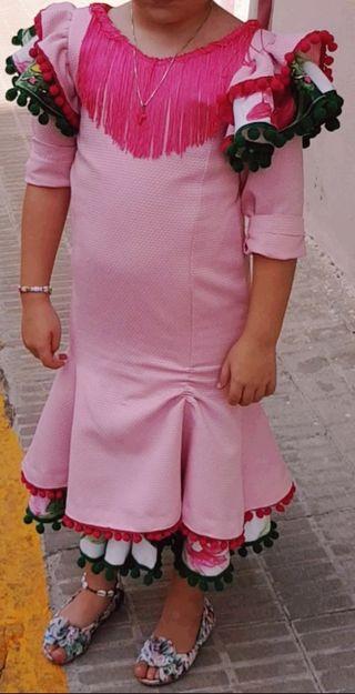 Vestido flamenca niña T-8
