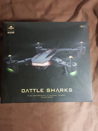 Dron Visuo Battle Sharks