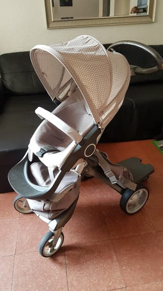 Stokke Xplory coche bebé + KIT verano + cuco y más