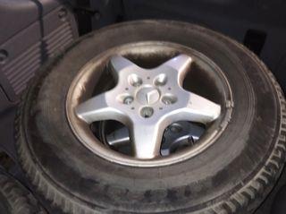 llantas con neumáticos mixtos campo Mercedes 4x4