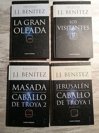 libros J.J. Benítez. 4 títulos.