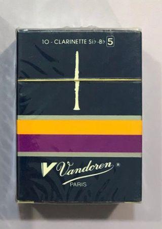 10 cañas clarinete Sib Vandoren NUEVAS Stock