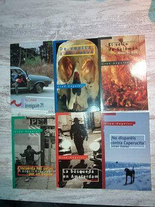6 titulos literatura juvenil gran angular