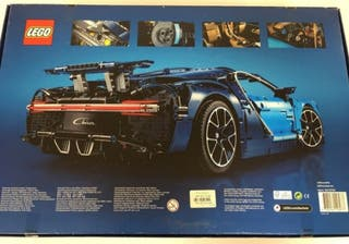 Lego technic 42083 Bugatti Chiron precintado