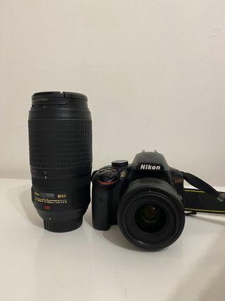 Camera digital Nikon + 2 lends