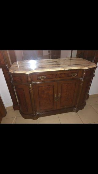 Mueble de entrada con espejo /taquillón /aparador