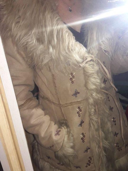 chaqueta de pelo talla M
