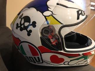 Casco moto agv k3 comic