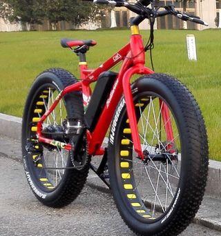 Bicicleta eléctrica Boston bike cima