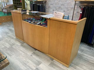 Mueble expositor tienda