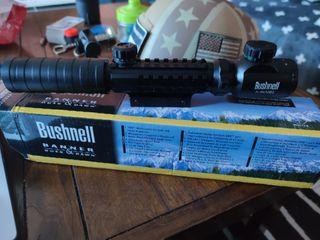 visor Bushnell airsoft con aumento regulable