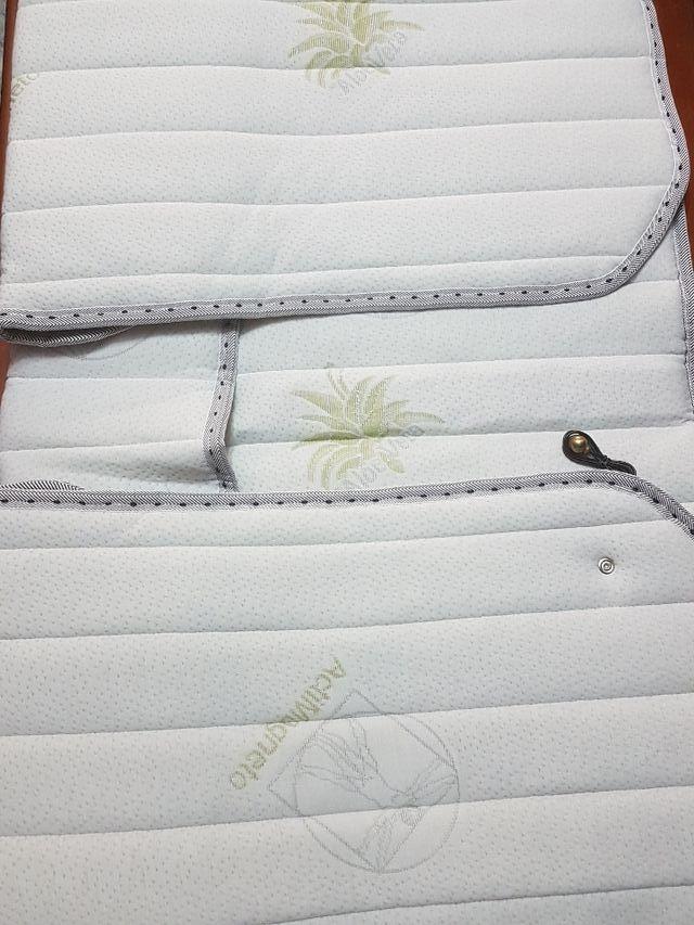 Cubre colchón magnetoterapia 90