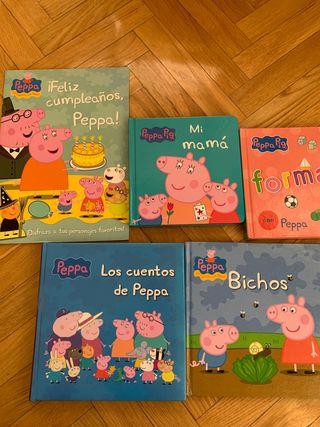 PRECIOSO LOTE CUENTOS PEPPA PIG