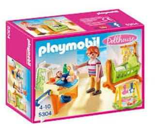 Dormitorio bebé playmobil