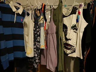 Camiseta Roxy, Custo, Ralph Lauren