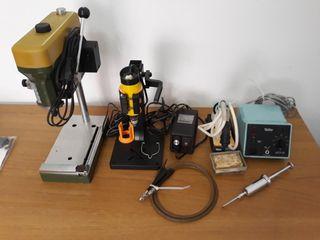 herramientas maquetas y bisutería