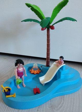 Playmobil Piscina niños