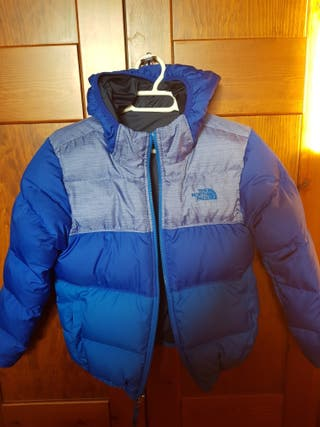 chaqueta plumas The North Face -10 años