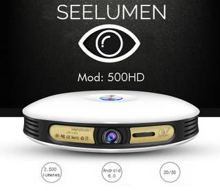 Proyector Inalámbrico fullHD 1080 con Android
