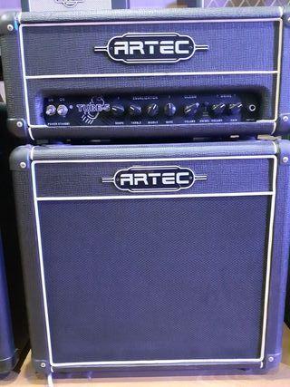 Amplificador guitarra electrica con cabezal y alta