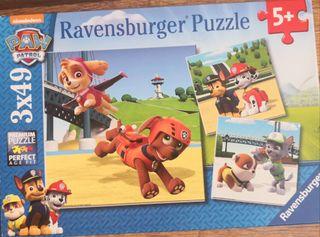 3 Puzzles de la patrulla canina