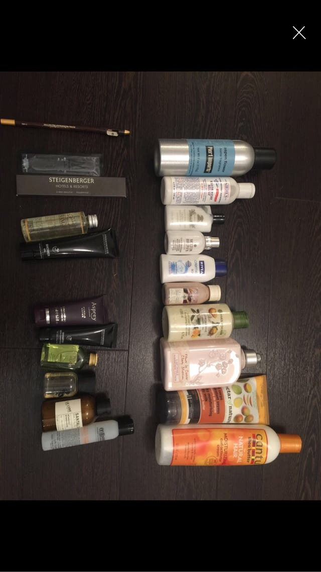 Pack of beauty products