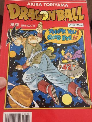 Lote dragon ball cómics