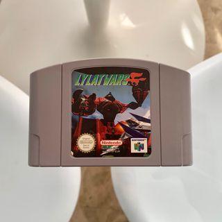 Videojuego Lylat Wars para Nintendo 64 sin caja